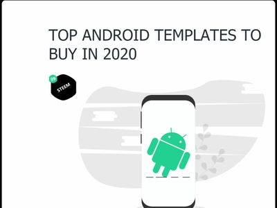 Top Android Application template to buy in 2020