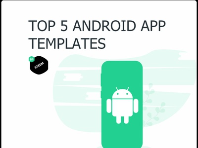 Top 5  Android templates you don't wanna miss in 2020