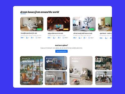 Real Estate Concept Design (3) real estate ui web design real estate io real estate website concept website design uidesign 99steem
