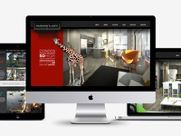 Hudson's Loft Website
