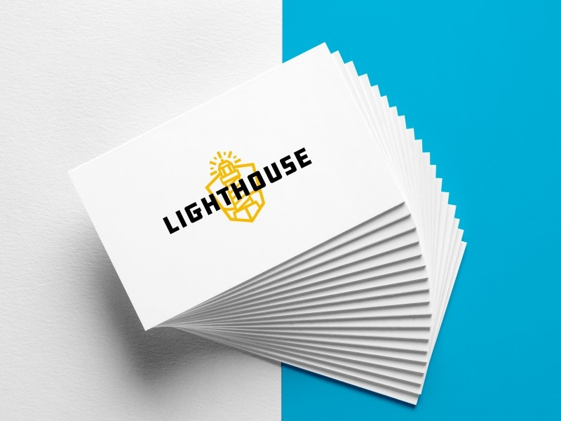Business Card Mockup for Lighthouse by Ben Wadolowski - Dribbble