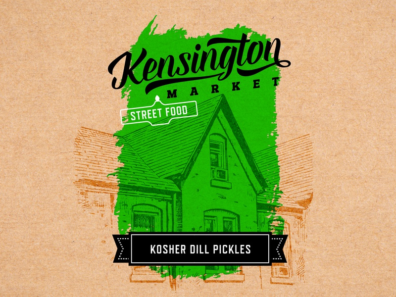 Packaging Design for Kensington Market identity packaging logo brand