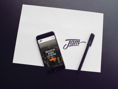 Branding and Web Design for JAM Brands