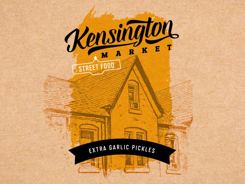 Packaging Design for Kensington Market packaging vancouver design logo branding