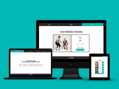 UI Checkout System Design for Steve Nash Fitness World