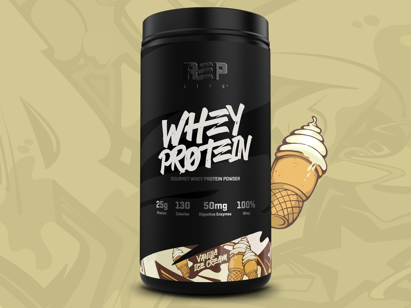 Packaging Design for R3P protein supplements packaging vancouver design logo branding