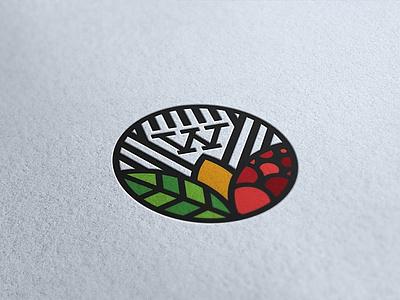 Logo Design for Wingreen leaves natural organic vector packaging marketing vancouver design logo branding