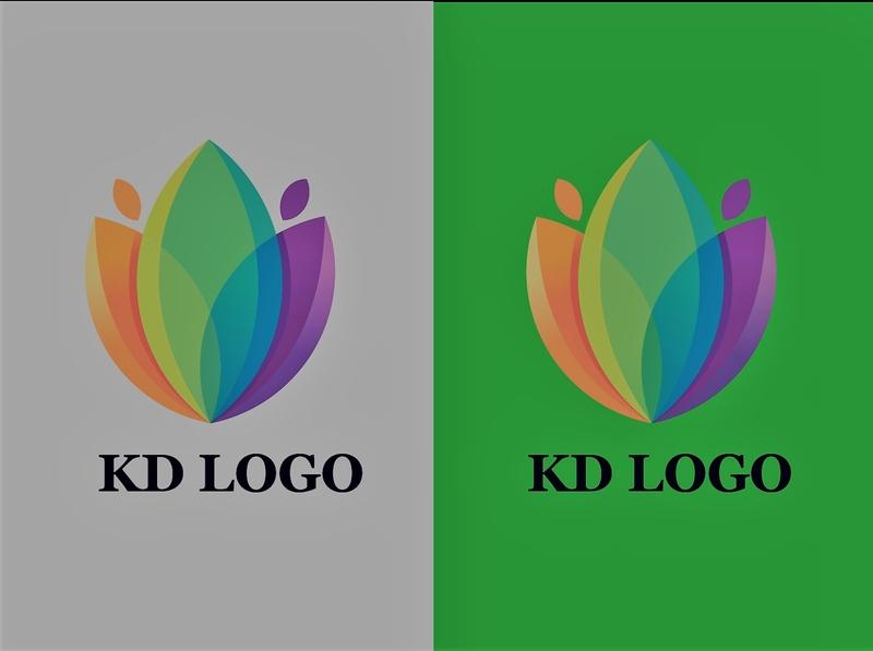 KD LOGO CONCEPT letter logo brand identity typography lettering logodesign vector logo illustration minimal custom logo . butter fly logo. branding