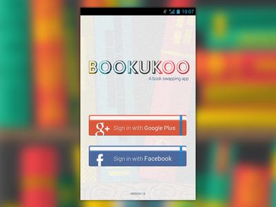 Android app login screen