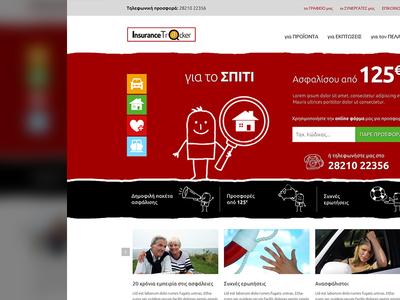 Insurancetracker repsonsive website