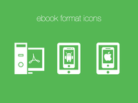 Custom ebook format icons