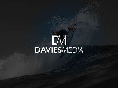 Davies Media brand identity