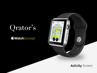 Qrator Apple Watch Concept