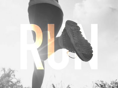 Run Woman Wallpaper - Mobile