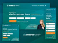 Insurancemarket - Homepage redesign