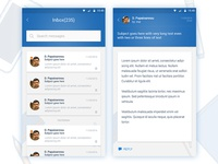 Android Mobile Design Inbox