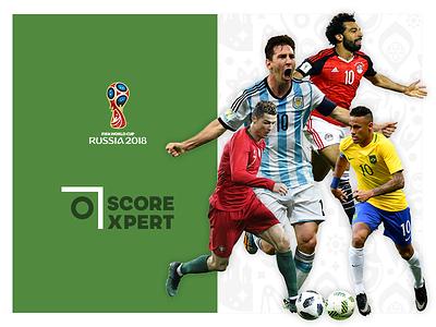 Scorexpert - World Cup 2018 Predictor sports responsive website ux ui football soccer
