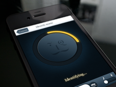 Music identification ios app shazam id iphone loader music identify controls ios app