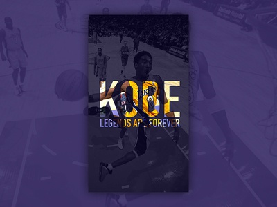 Kobe Bryant tribute wallpaper