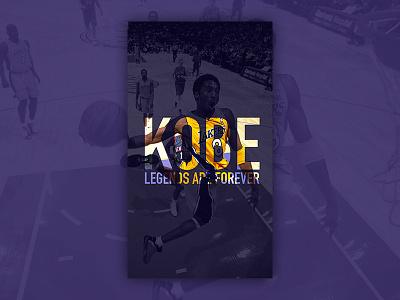 Kobe Bryant tribute wallpaper legend tribute mobile wallpaper kobe