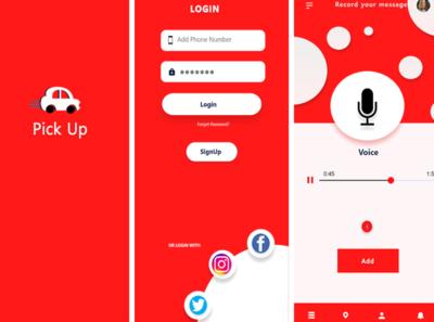 ui/ux adobe xd animation web app typography branding logo ux mobile app design mobile ui