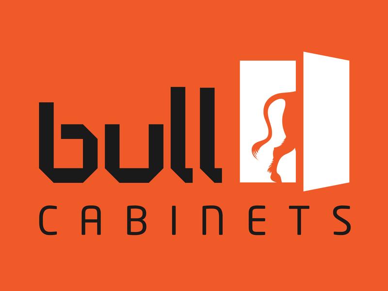 Bull Cabinets Branding graphic design logo logo design branding