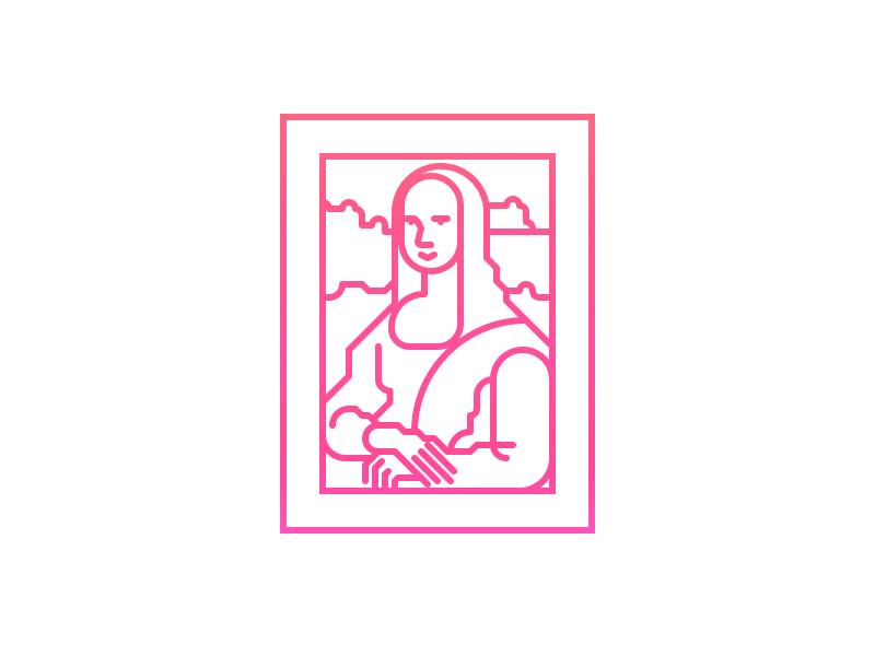 Monalisa icon 01