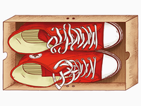 Red Keds for Red Monkey