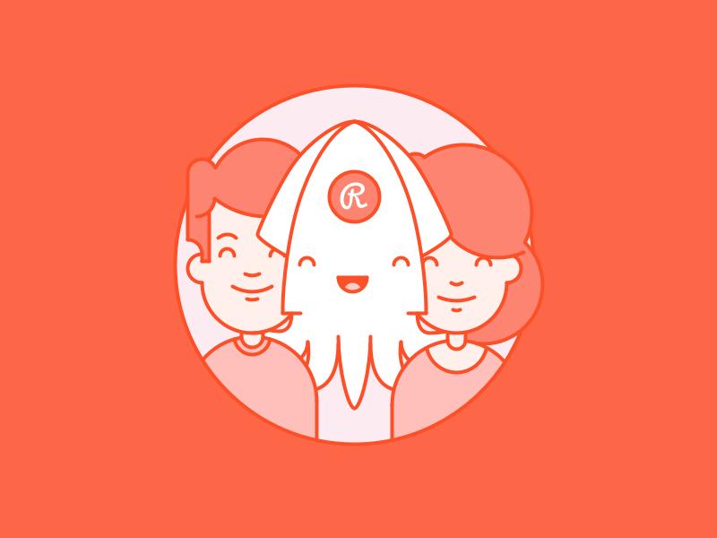 Invite friends illustration