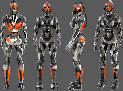 storm trupper yekaterinburg hard edge modeling 3d modeling fan art cyberpunk 2077