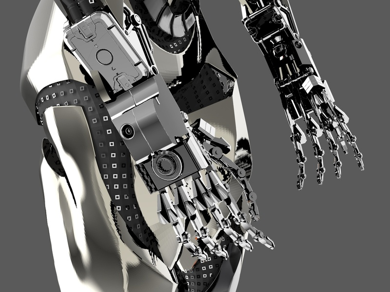 cyberpunk 2077 inspired mechanical hand cyberpunk 2077 characterdesign yekaterinburg product design design 3d modeling 3d illustration 3d art