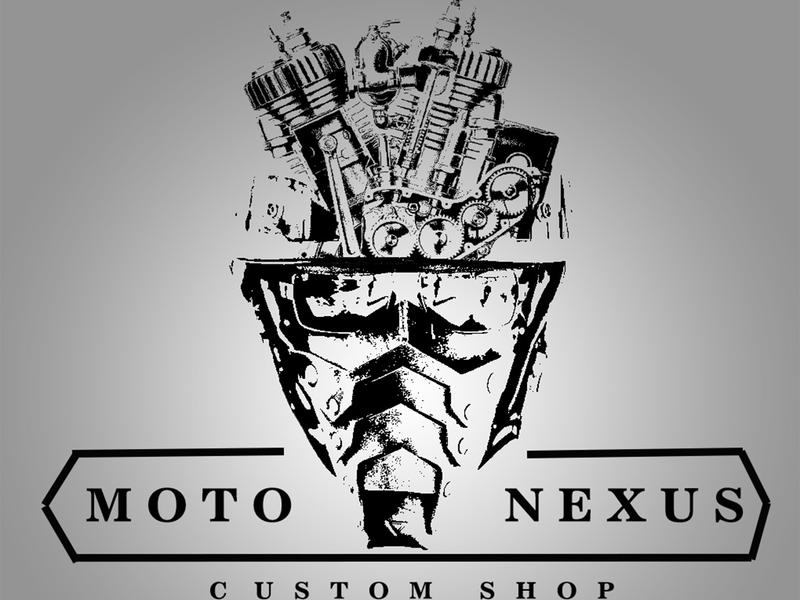 Logo for bike shop vector design yekaterinburg logo design moto logo