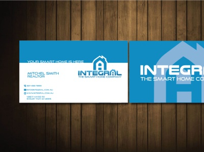 integral business card business card design professional business card businesscard