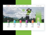 LIFEAID Homepage Concept