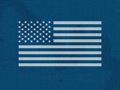 America: Pixelated. flag america us pixel art
