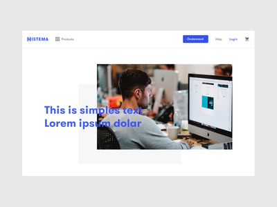 Histema - Page about us ecommerce ux theme about