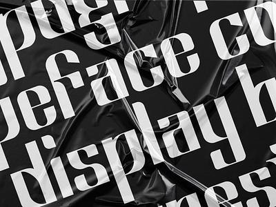 Display Typeface typedesign display display face type typography