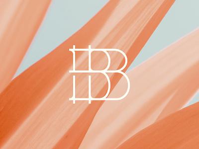 B typography logotype type b monogram