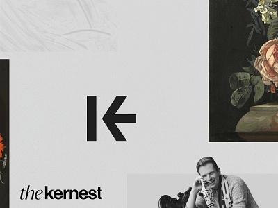 The Kernest — Teaser kerning kern arrow logo k and arrow teaser grids ek logotypedesign logo typography monogram logotype typograhic type ke logo ke ke monogram k monogram kernest