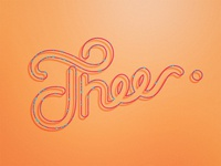 Thee | Typography