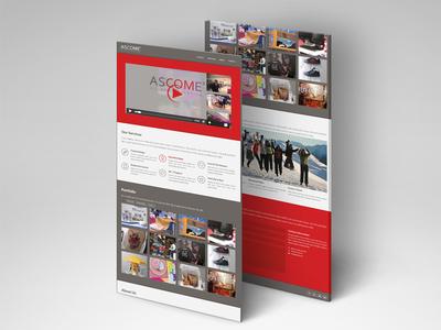 Site Web Ascome webdesign web internet webdesigner site internet