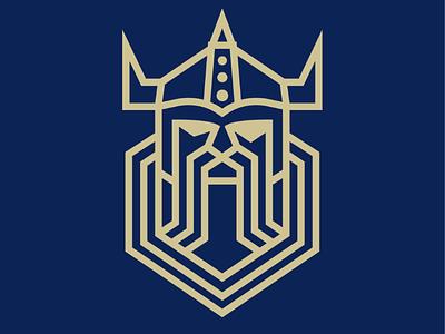 Dwarf fantasy blue gold head dwarf