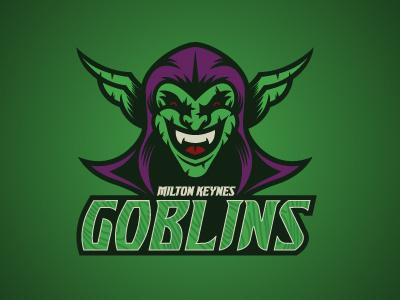 Milton Keynes Goblins By Tortoiseshell Black On Dribbble
