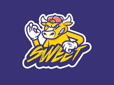 Sweet sports logo sports branding logos logo vector sports illustration