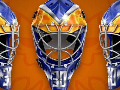Peterborough Phantoms - Adma Long helmet design goalie mask goalie sports mask design ice hockey