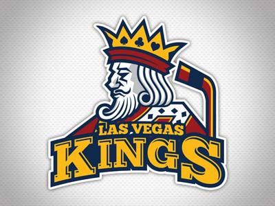 Lvkings hockey dribble logo