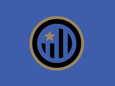 Inter Milan type sports graphics sports team logo badge inter milan soccer football