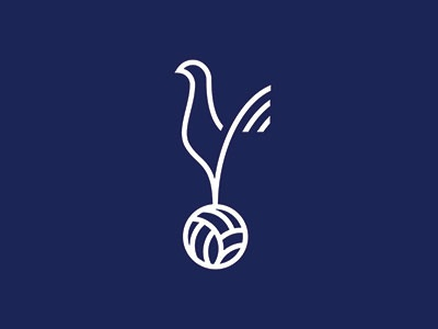 Tottenham Hotspur type sports graphics sports team logo badge tottenham hotspur soccer football