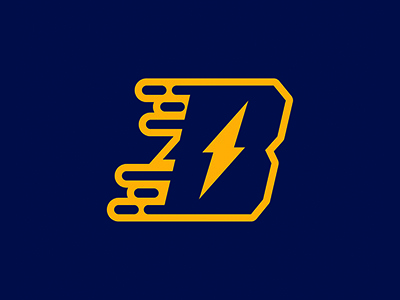 Bolts logo hockey bolts ice hockey logosdesign sports