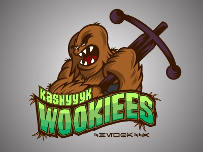 Dribbble wookiee
